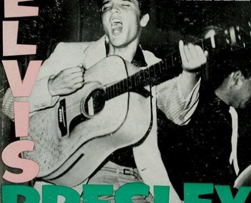 elvis presley 1956 album cover