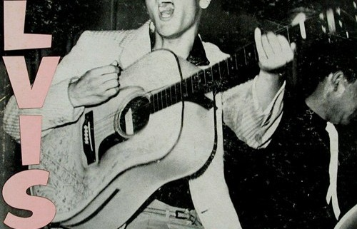elvis presley 1956 album cover