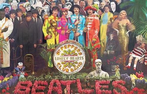 Sgt Pepper Album Cover