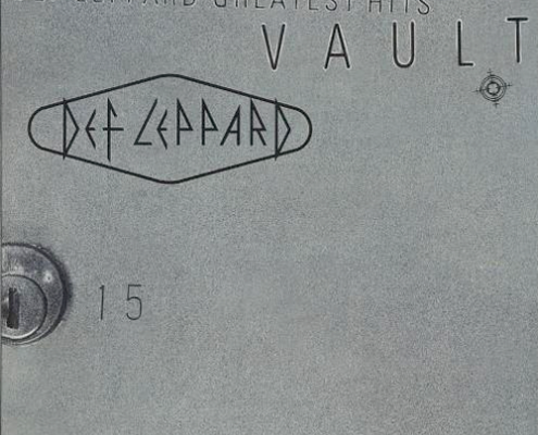 Vault: Def Leppard Greatest Hits album cover