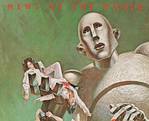 news of the world album cover