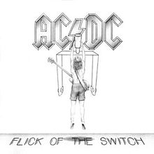 Flick Of The Switch Album Cover