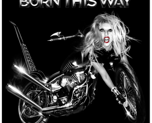 Born This Way Album Cover By Lady Gaga